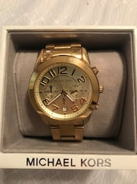 Ladies Gold Michael Kors Watch 877 mi