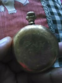 Gold antique pocket watch price is pick up only Silver Spring, 20906