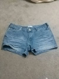 Womens Blue Crush Jean Shorts  Barrie