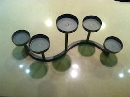Tea candles metal stand (metal)