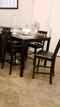 ☆Ashley 5 Piece Counter Height☆Bennox Brown Color☆Brand New Lansdowne, 21227