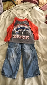 toddler's blue denim overall pants Rock Hill, 29730