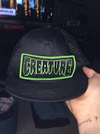 Creature skateboards snapback/trucker hat Summerville, 29485