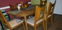 Dinner table 6piece w/leaf ext. One chair  needs repair.  Silver Spring, 20904