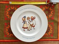 Holly Hobbie Freedom Series collector plate