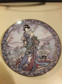 Franklin Mint Royal Doulton Princess plate Aston, 19014