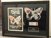 A Kaskade Freaks of Nature Frame poster