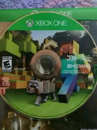 Minecraft Xbox One game disc