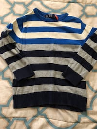 blue and gray striped sweater Laredo, 78040