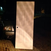 white and black single-door refrigerator Guelph, N1H 1H5