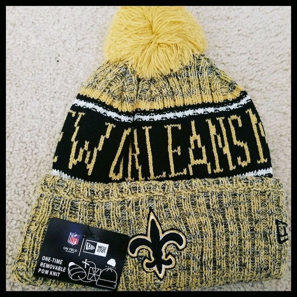 AUTHENTIC NFL FOOTBALL WINTER BEANIE.