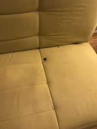 brown fabric padded sofa chair Dumfries, 22025