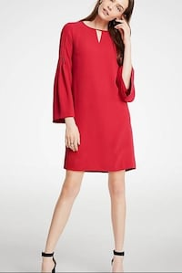 Ann taylor red dress nwt 00p Fairfax, 22030
