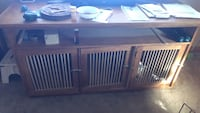 TV STAND W/DOG CRATES Berea, 44017