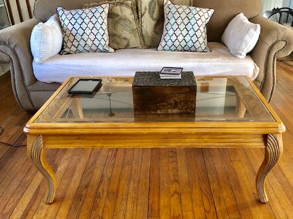 Coffee table, 2 end tables and sofa table
