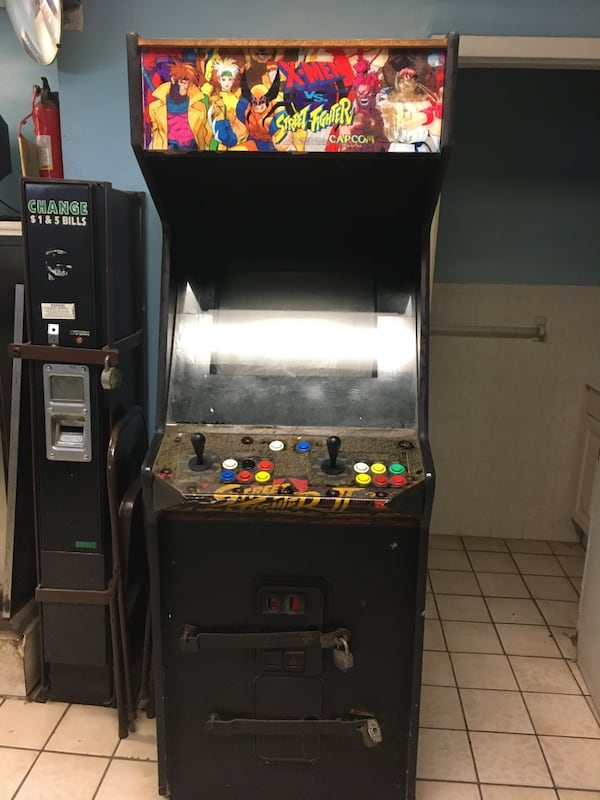 Used X Men And Street Fighter Arcade Game For Sale In Newark Letgo