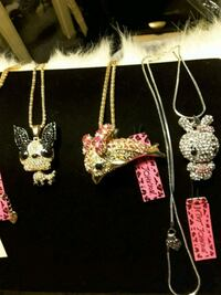 Betsey J  Fun Necklaces