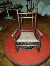 Small antique child's rocker Woodbridge, 22193