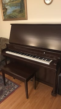 black and white upright piano Mississauga, L4W 3N1