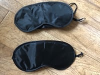 2 Sleep Masks Couple Pair 2397 mi