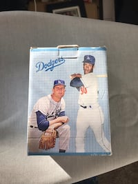 Don Drysdale and Maury wills bobblehead  Grand Terrace, 92313