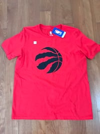 Brand new with tag Raptors Basketball red t-shirt Kitchener, N2B 3C3