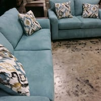 Teal sofa and loveseat Farmers Branch, 75234