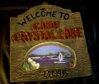 Friday the 13th Camp Crystal Lake sign  Bunker Hill, 25413