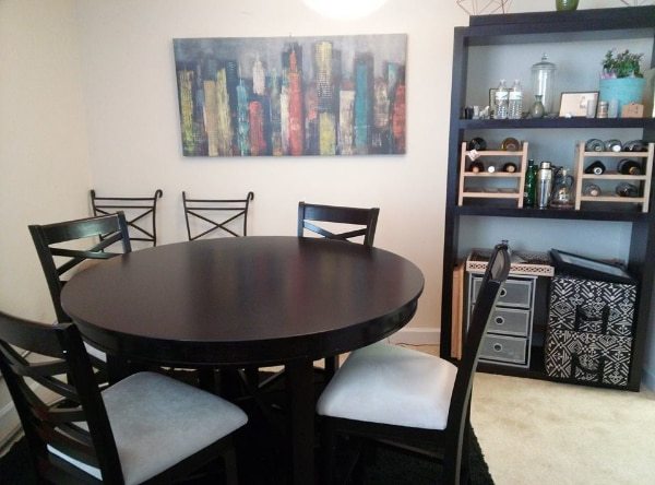 5pc bar-height dining set