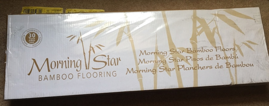 morning star qing spyder bamboo flooring 5 boxes in middleburg heights letgo