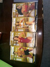 4 new VHS workout tapes