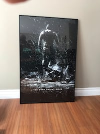 """ The Dark Knight Rises"" movie poster Burnaby, V5A 1R5"