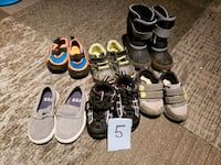 Size 5 boys .....boots/ shoes/ water shoes Buffalo, 14227