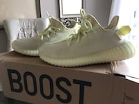 Yeezy butter sneakers. Women's size 8 , brand new with box and receipt. Beautiful colour . Oakville