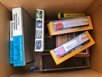 Vintage HO tyco train and matchbox and assc  Cohasset, 02025