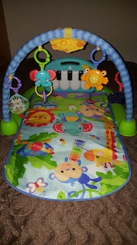 Babygym with piano
