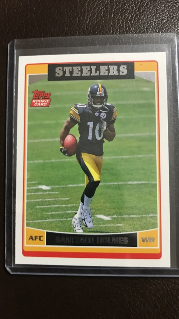 1fd7af3315f Used pittsburgh steelers santonio holmes collectible card for sale in  Reynoldsburg - letgo