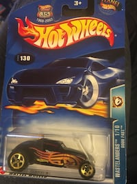 black Hot Wheels car die-cast model pack Alexandria, 22306
