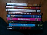 assorted DVD movie case lot New Haven, 48048