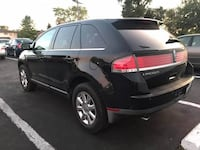 Black 2008 Lincoln MKX Leather seats  Redford Charter Twp