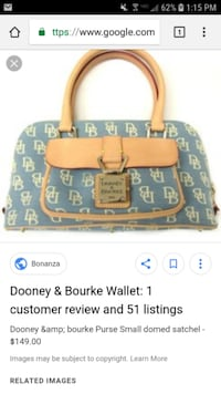 Signature Dooney and Bourke purse  null