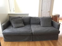 Crate & Barrel Slipcover Sofa 34 mi