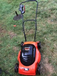 black and red Black&Decker lawnmower Germantown, 20874