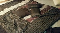 brown blanket pillow case and pillow lot Appleton, 54915