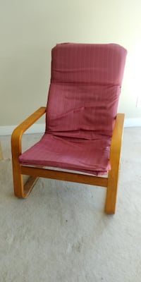 Ikea poang chair, lounge chair, rocking chair null