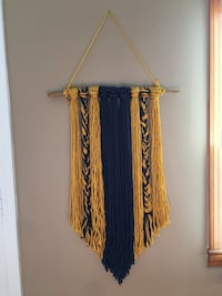 Yarn Wall Hanging Fort Knox, 40121
