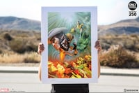 Death of wolverine art print Sideshow Yonkers, 10710