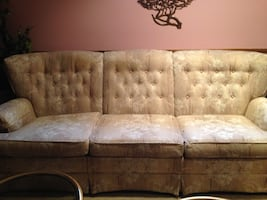 3 pieces, SOFA, LOVESEAT AND  CHAIR, SKLAR PEPPLAR, well known name