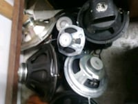 """various Speakers 1"""" to 18"""" Abbotsford, V4X 1W2"""