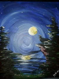 Aftermath: Forest Nights 16x20 satin acrylic  Holly, 48442